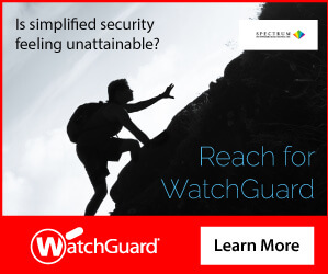 WatchGuard Simplicity Reach Banner Ad