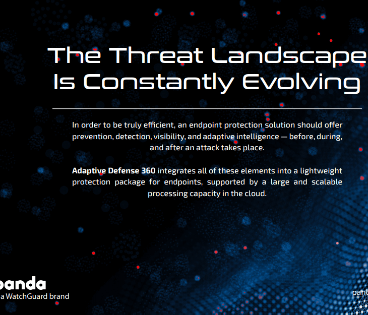 watchguard Panda's Adaptive Defense 360 Solution Brief: AD360