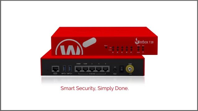 WatchGuard Firebox T20 Review