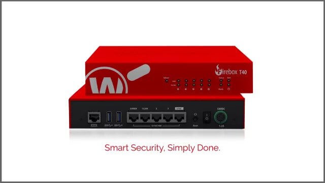 WatchGuard Firebox T40 Review