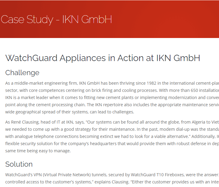 Watchguard IKN GmbH