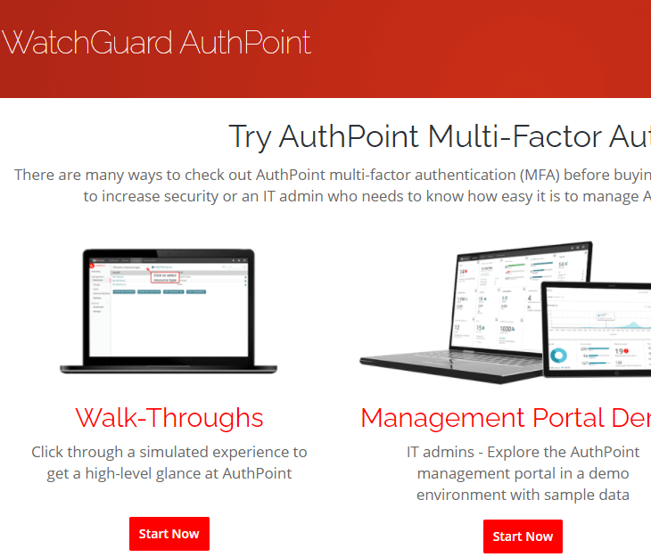 WatchGuard Authentication